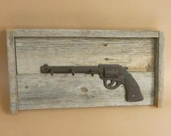 Rustic Wood Key Holder