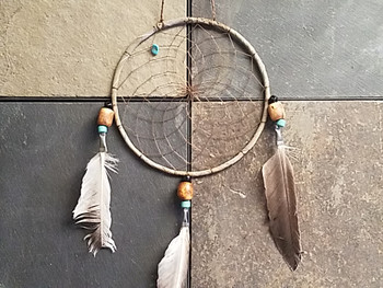 Old Style  Native American Dreamcatcher
