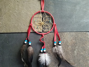Handwoven Native American Dreamcatcher