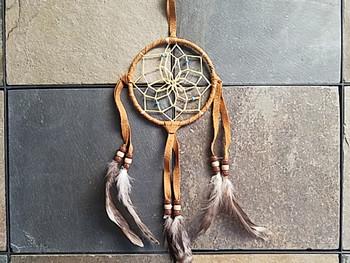 Handwoven Native American Dreamcatcher