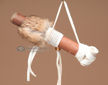 Cherokee Mini Beaded Antler Pipe