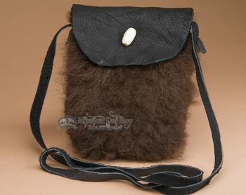 Buffalo Hide Medicine Bag -Sioux
