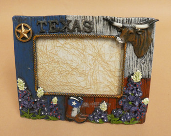 Western Texas Pride Picture Frame