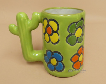 Mexican Hand Painted Talavera Mug