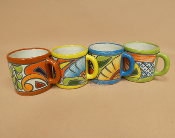 Hand Painted Talavera Mug Set