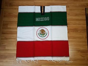 Mexico Soccer Poncho
