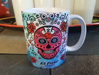 Day of the Dead Mug -Sugar Skull