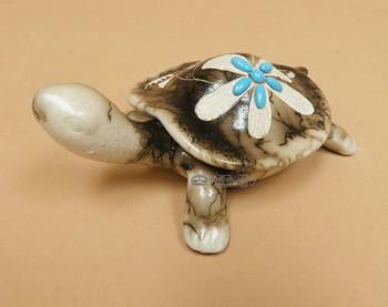 Navajo Horse Hair Turtle Jewelry Box