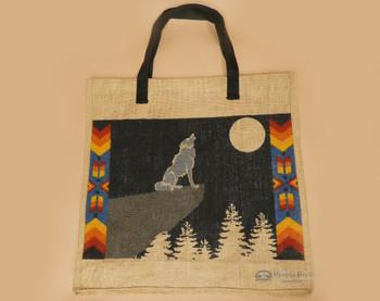 Southwest Market Bag 18x18 - Wolf