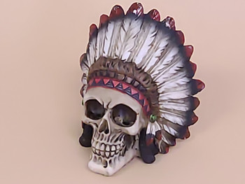 Day of the Dead Skull -Chief