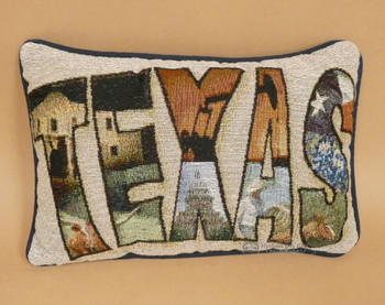 "Texas Pride Pillow 12.5""x8.5"""