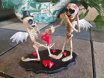 Day of the Dead -Skeleton Couple Proposal