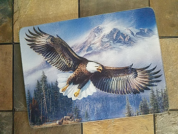 Tempered Glass Cutting Board 16x12 -Eagle