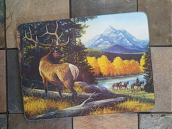 Tempered Glass Cutting Board 16x12 -Elk