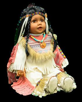 "Designer Traditional Indian Doll 22"" -Ratna"