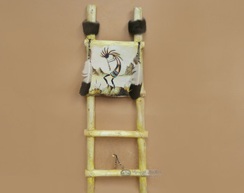 Tarahumara Painted Dreamcatcher Kiva Ladder