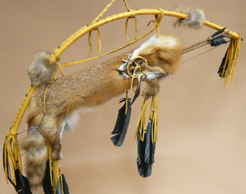 Bow & Fox Pelt Quiver Set -Gold