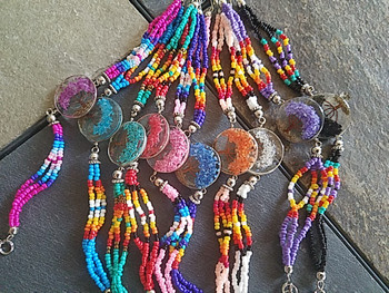 Bulk beaded tree of life bracelet in assorted colors