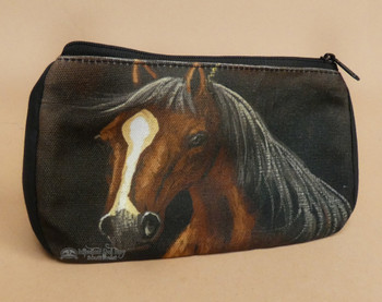 Digital Print Cosmetic Bag -Horse