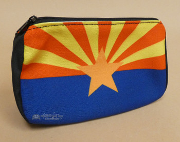 Digital Print Cosmetic Bag -Arizona Flag