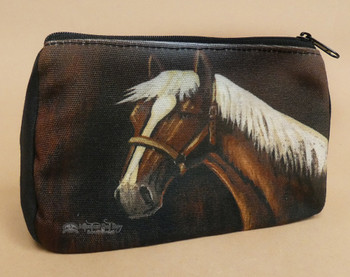 Digital Print Cosmetic Bag -Mustang