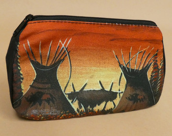 Digital Print Cosmetic Bag -Buffalo Camp