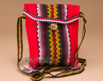 Small Huallhuas Handwoven Wool Tote
