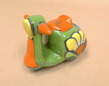 Hand Painted Mexican Talavera Moped