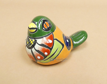 Mexican Hand Painted Talavera Bird