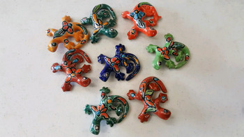 Assorted Hand Painted Talavera Clay Animals
