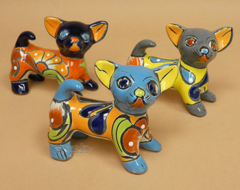 Assorted Hand Painted Talavera Chihuahua