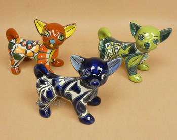 Each Hand Painted Talavera Chihuahua Is Unique