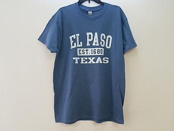 Premium El Paso T Shirt - Denim Large