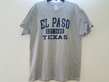 Premium El Paso T Shirt - Heather Grey XL