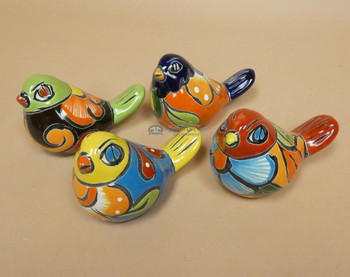 Hand Painted Talavera Birds