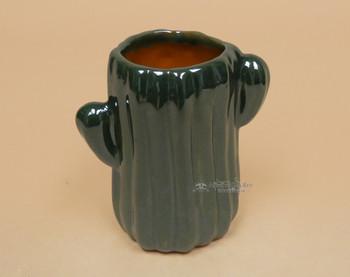 Mexican Talavera Cactus Cup -Green