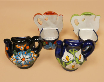 Hand Painted Talavera Oil Bottle Holder