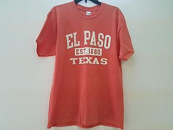 Premium El Paso T Shirt - Sunset Large
