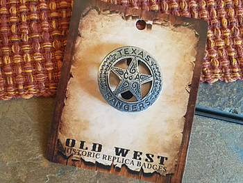 Historic Old West Replica Sheriff Badge