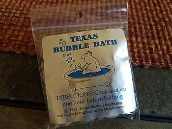 Texas Bubble Bath -Gag Gift Souvenir