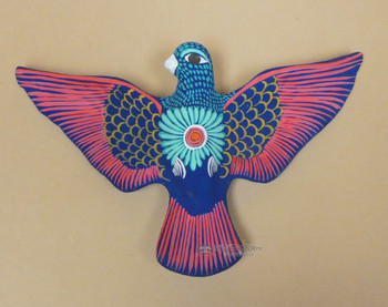 Mexican Hand Painted Bird