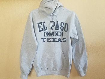 Premium El Paso Hoodie -Heather Grey
