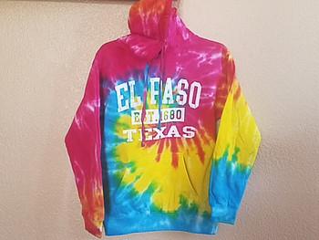 Premium El Paso Hoodie -Rainbow