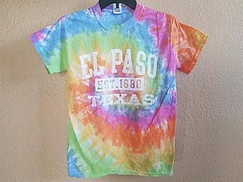 El Paso Tie Dye T Shirt -Eternity