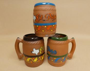 Bulk -El Paso Souvenir Barrel Mug