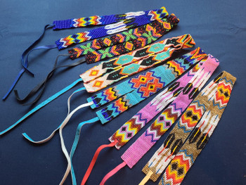Assorted Seed Bead Hat Bands