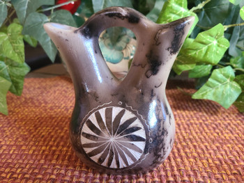 Native American Wedding Vase -Horse Hair