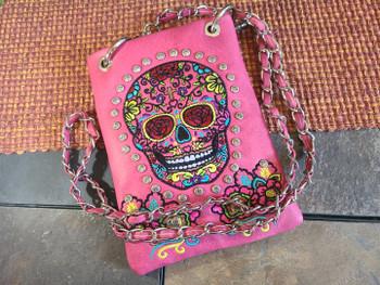 Sugar Skull Shoulder Bag