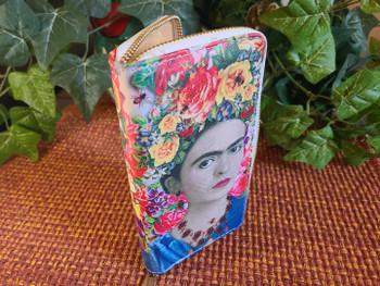 Printed Wallet -Frieda Kahlo