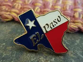El Paso Texas Hat Pin / Lapel Pin